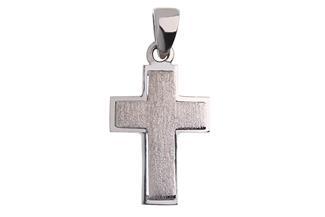 Anhänger Kreuz - 925 Silber