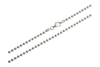 Kugelkette 3mm - 925 Silber