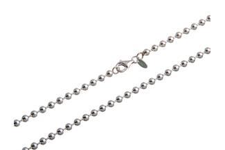 Kugelkette 4mm - 925 Silber
