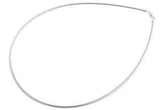 Omegahalsreifen 2,3mm - 925 Silber