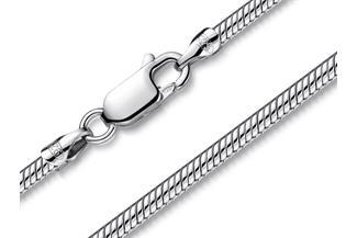 Schlangenkette 2,2mm - 925 Silber