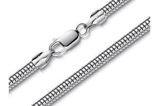 Schlangenkette 4mm - 925 Silber