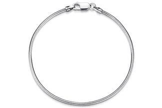 Schlangenkette Armband 2mm - 925 Silber
