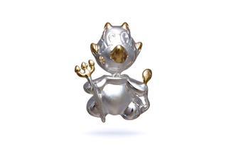 Anhänger Teufel - 925 Silber