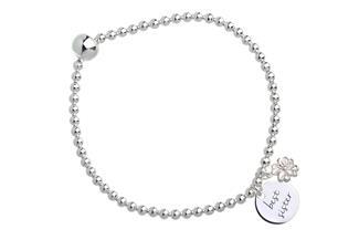 Elastic Elements Armband Glück - 925 Silber