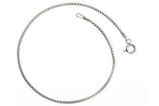 Veneziakette Armband rund 1,5mm - 925 Silber
