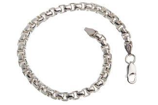 Veneziakette Armband rund 5,3mm - 925 Silber