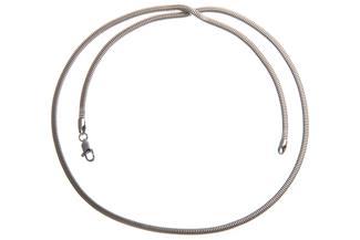 Schlangenkette, vierkant 2,4mm - 925 Silber