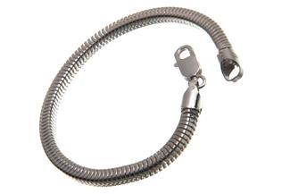 Schlangenkette Armband, vierkant 4,5mm