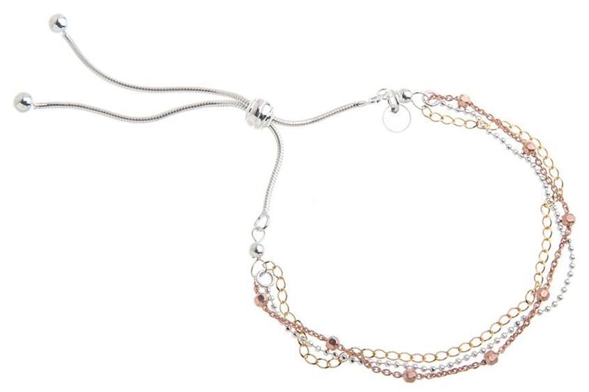 Fashion Line Armband - echt 925 Silber Mod. 0048BR4712