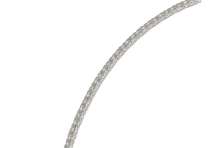 Faschion-Omegahalsreifen 2mm - 925 Silber Länge: 40cm - 028ART5