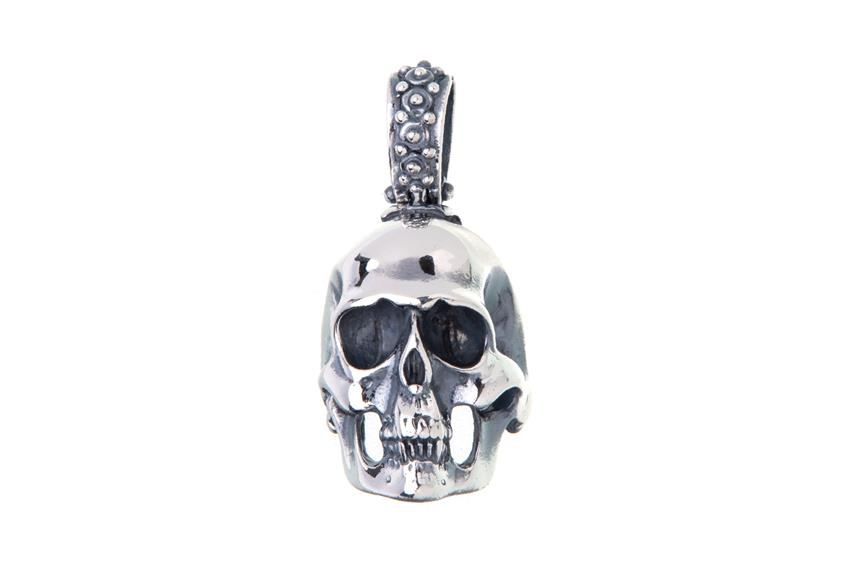 Anhänger Skull, Totenkopf,072LU594 - 925 Silber 072LU594