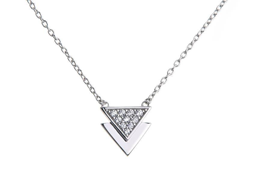Faschion Line Set Triangle - 925 Silber 925 Silber