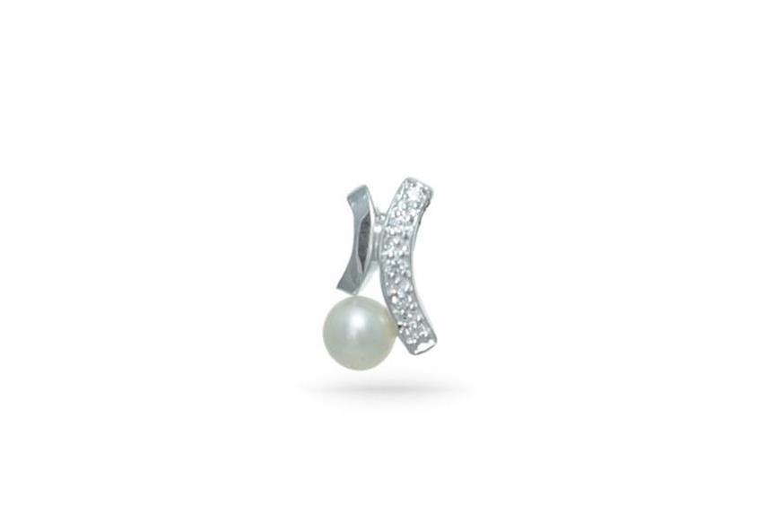 Anhänger Perle - 925 Silber