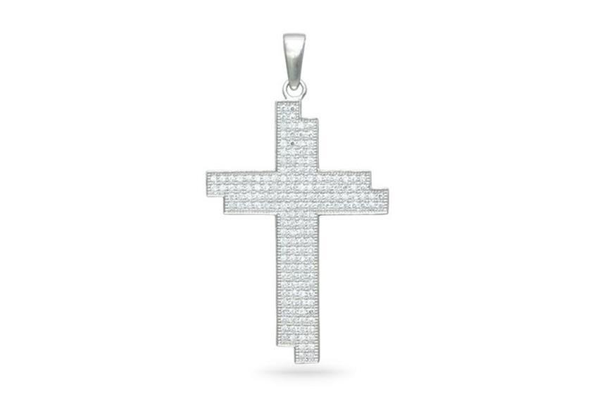 Anhänger Kreuz - 925 Silber AC02014