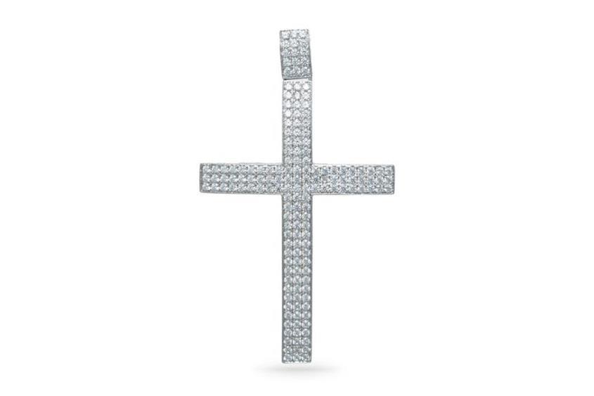 Anhänger Kreuz - 925 Silber P01005