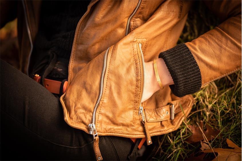 Fashion Armband - 925 Silber, vergoldet GOL186