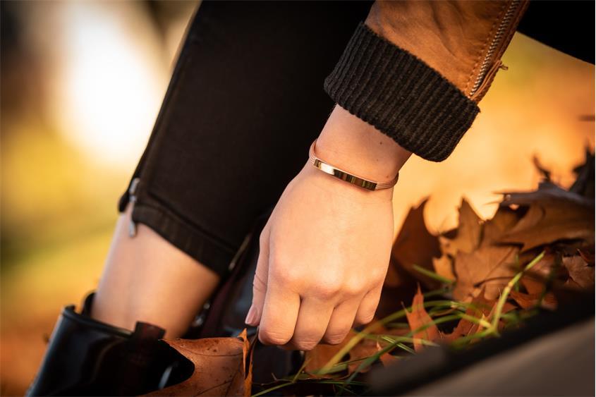 Fashion Armband - 925 Silber, rosé vergoldet ROS186