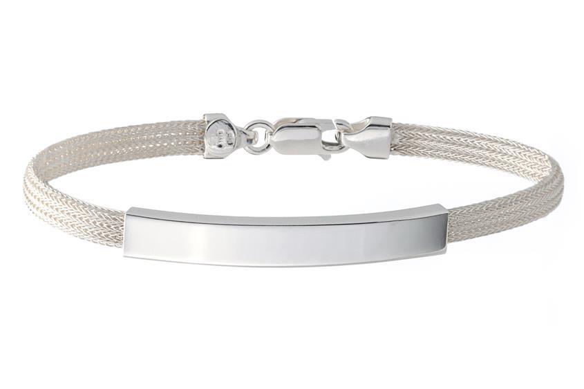 Fashion Gravurarmband - 925 Silber SIL186