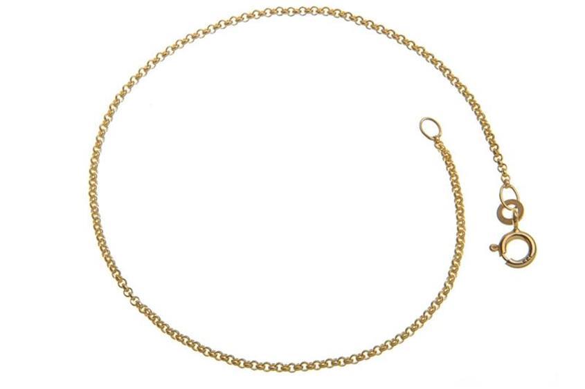 Erbskette Armband 1,5mm - 333 Gold