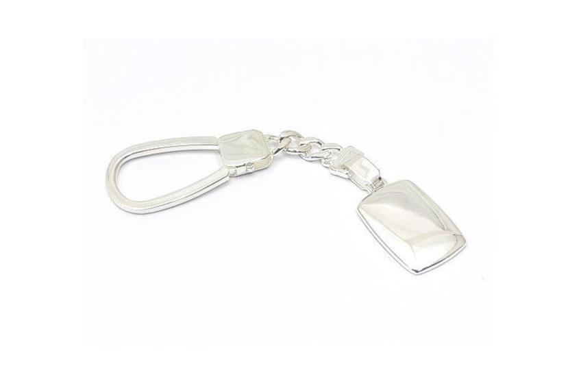 Schlüsselanhänger mit Gravurplatte 2417