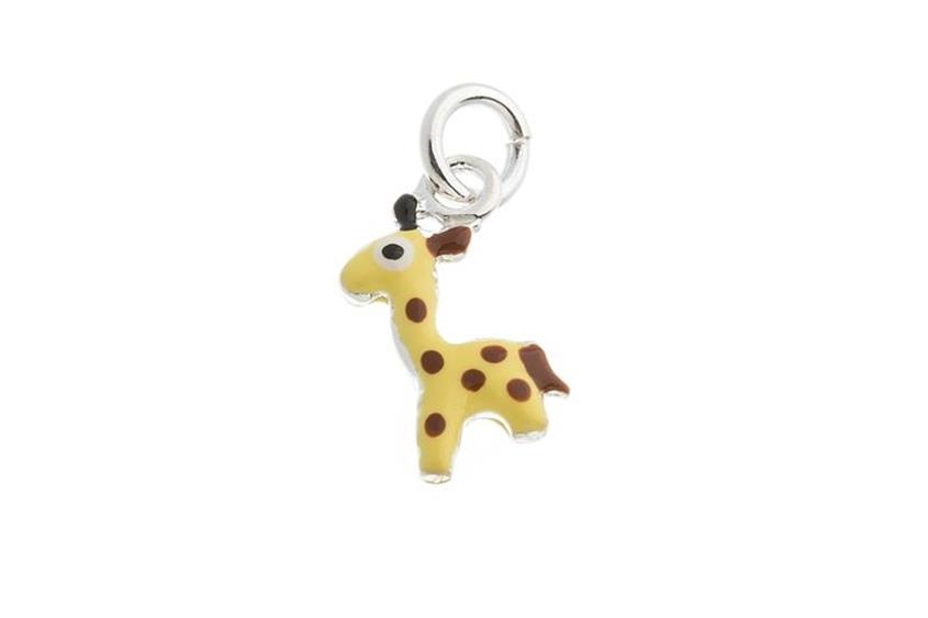 Kinder-Anhänger Giraffe - 925 Silber