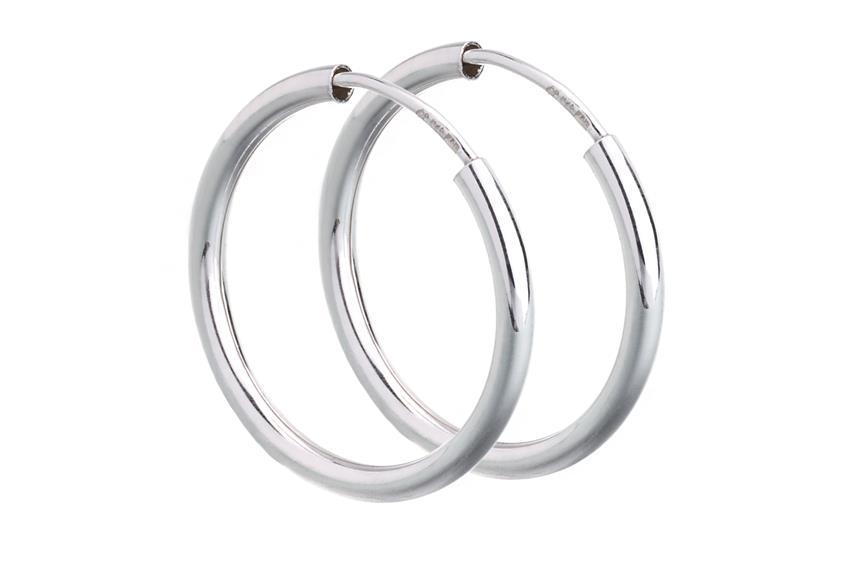 Creolen, Durchmesser 2cm - 925 Silber