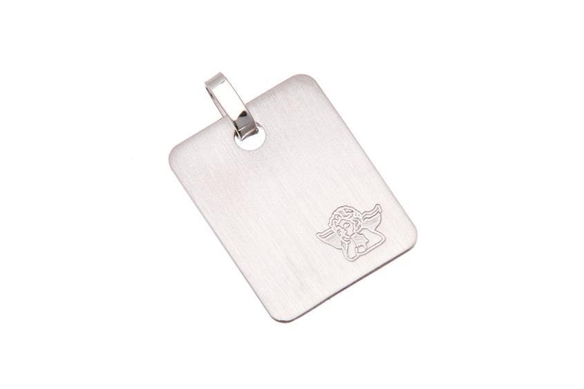 Gravuranhänger - 925 Silber Schutzengel