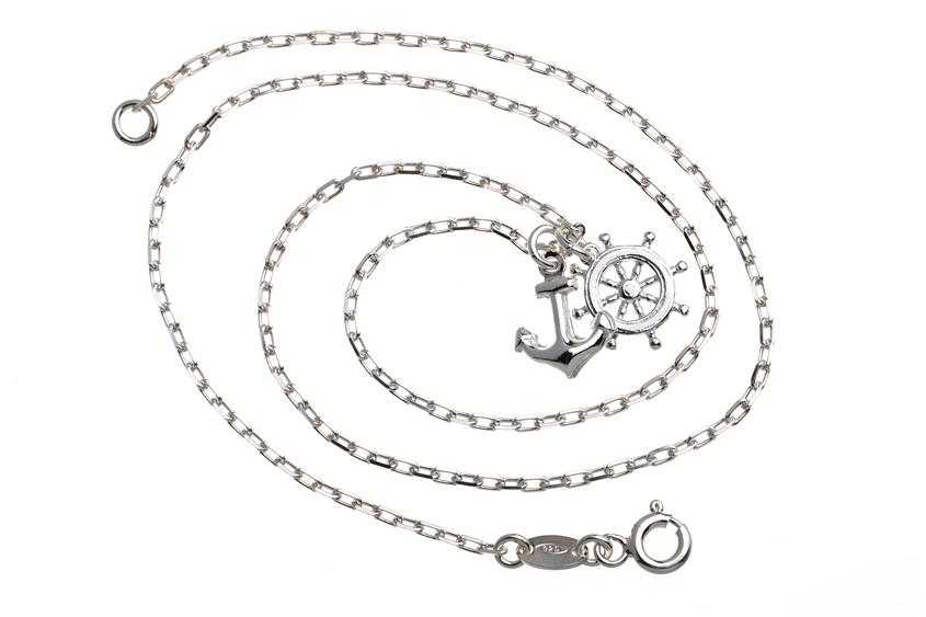 Ankerkette - Steuerbord  - 925 Silber