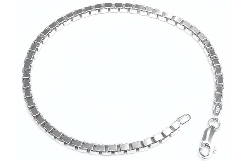 Veneziakette Armband 3mm - 925 Silber