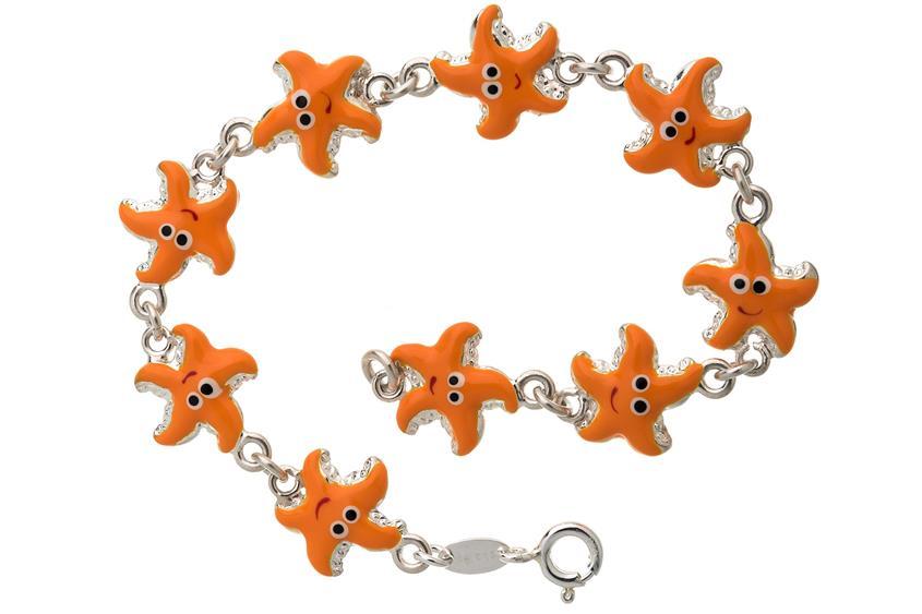 Kinder-Armband Seesterne
