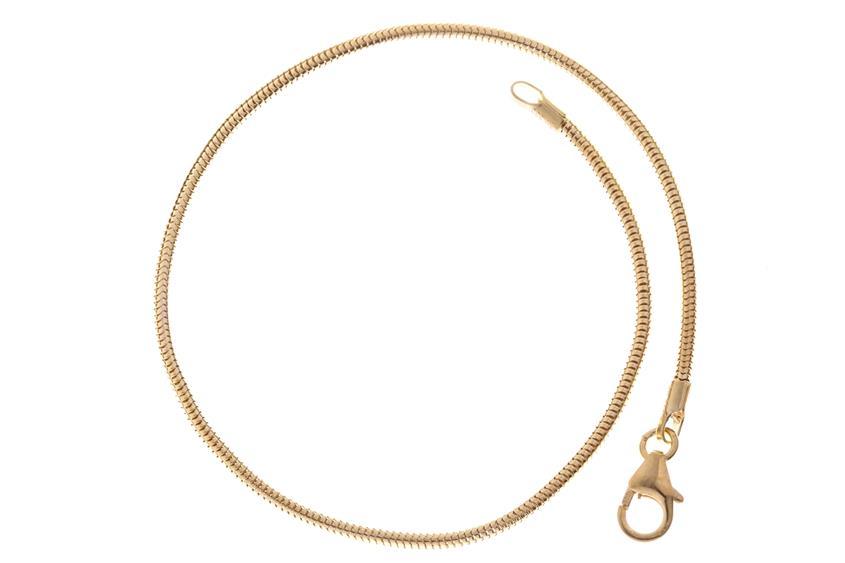 Schlangenkette Armband 1,4mm - 333 Gold