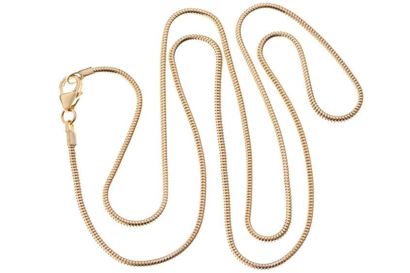 Schlangenkette 1,4mm - echt 333 Gold
