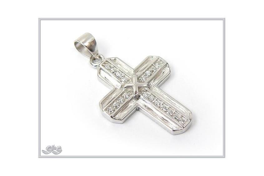 Anhänger Kreuz - 925 Silber 61P2714