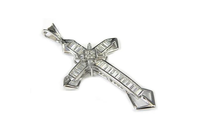Anhänger Kreuz - 925 Silber Meiy01