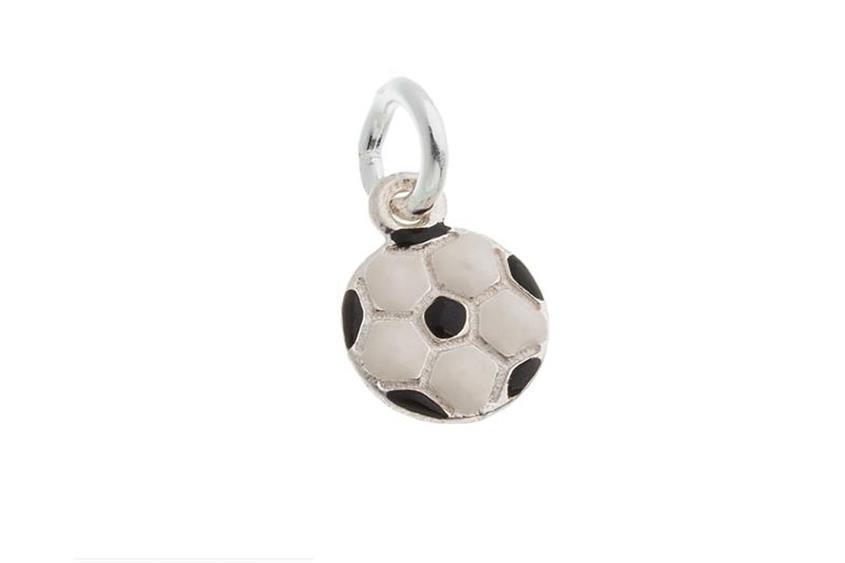 Kinder-Anhänger Fußball - 925 Silber