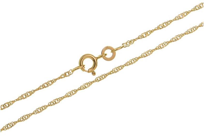 Singapurkette Armband 1,4mm - 333 Gold