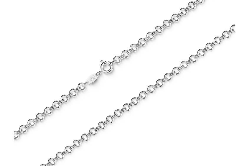 Doppelerbskette Armband 3,6mm - 925 Silber