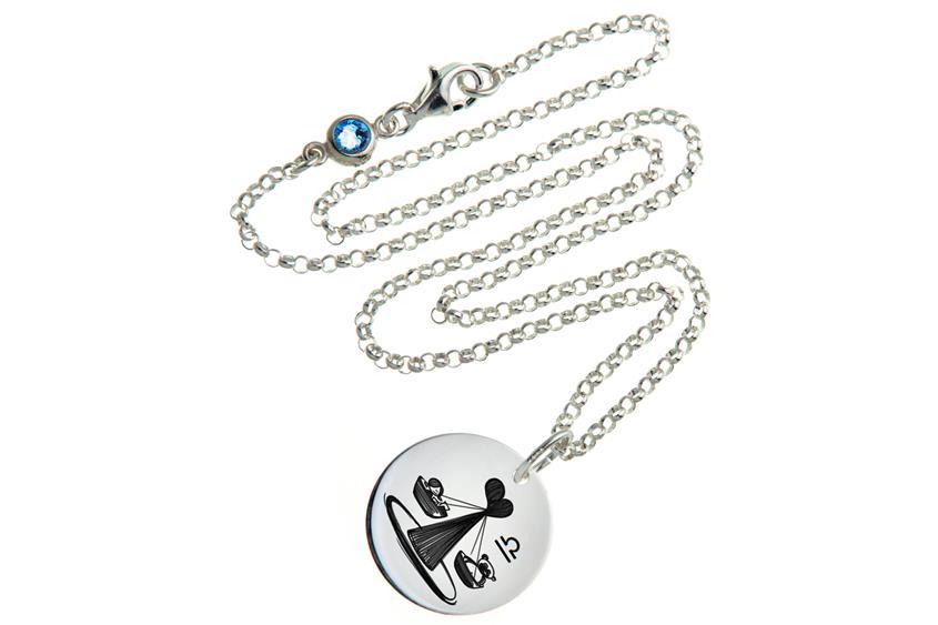 Kinder Kette ChainMAGPIE mit Sternzeichen Waage J - 925 Silber 925 Silber