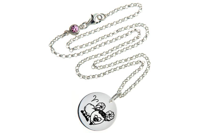Kinder Kette ChainMAGPIE mit Sternzeichen Widder - 925 Silber
