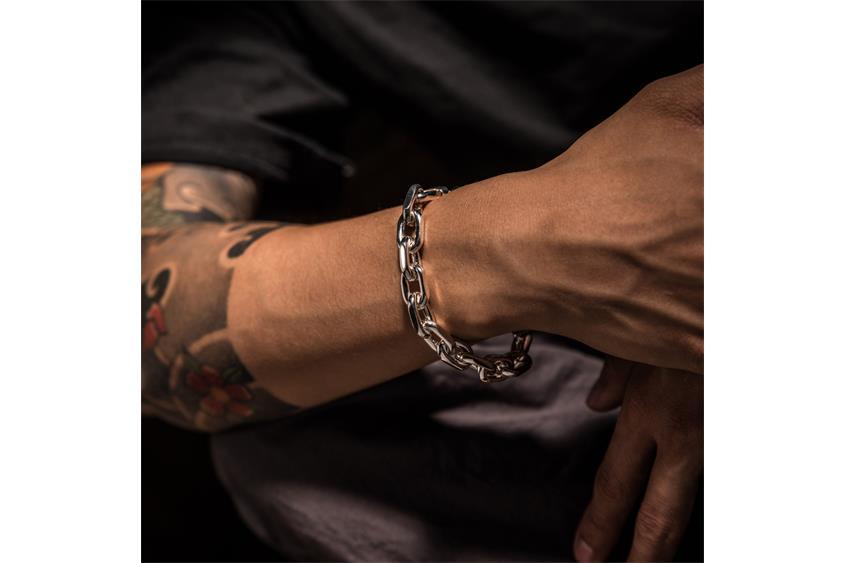 Ankerkette Armband 10mm - 925 Silber