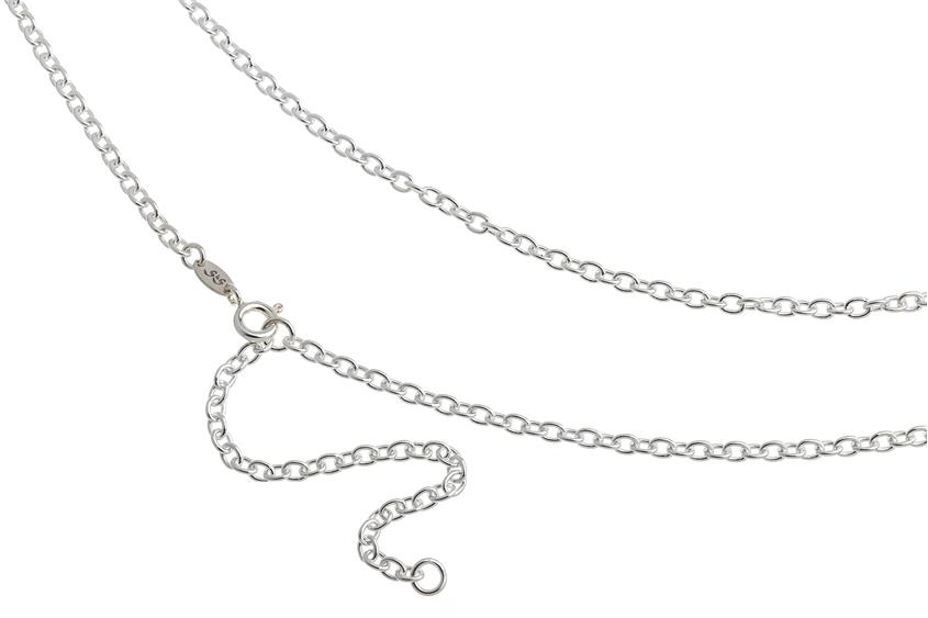 Bauchkette Erbskette 2,8mm - 925 Silber