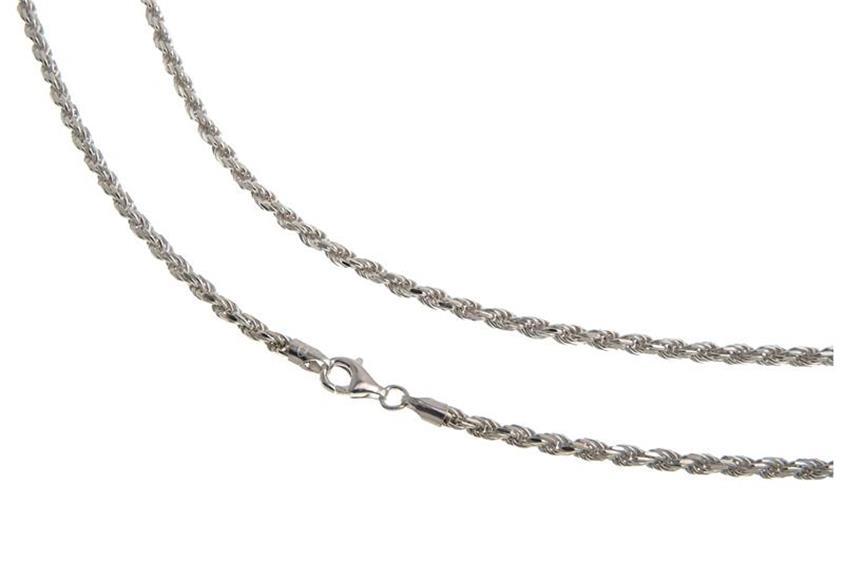 Bauchkette Kordel 3mm - 925 Silber