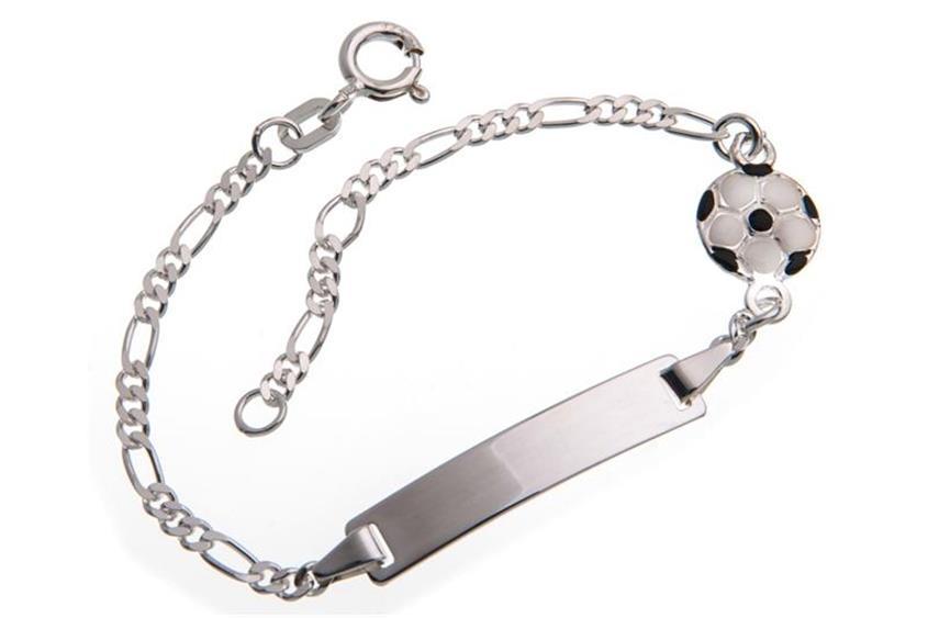 Kinder-Gravurarmband Fußball