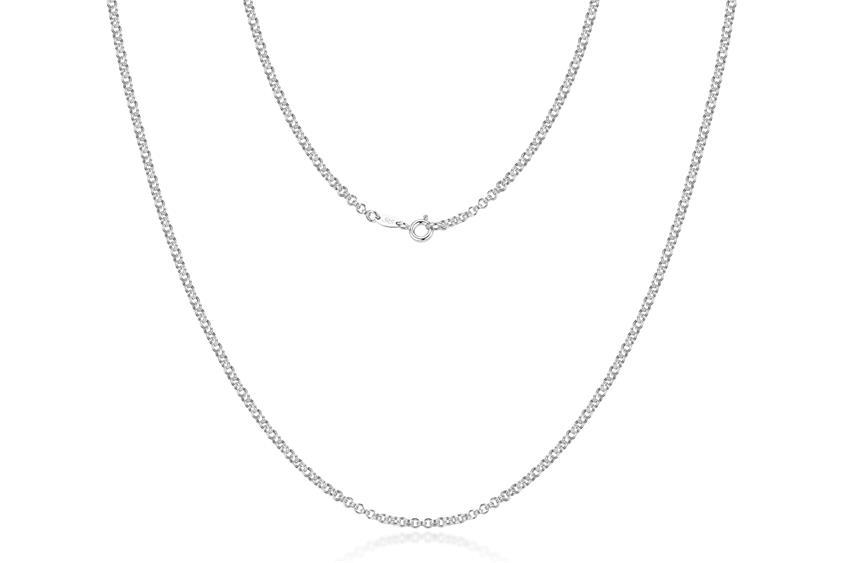Doppelerbskette 2,4mm - 925 Silber