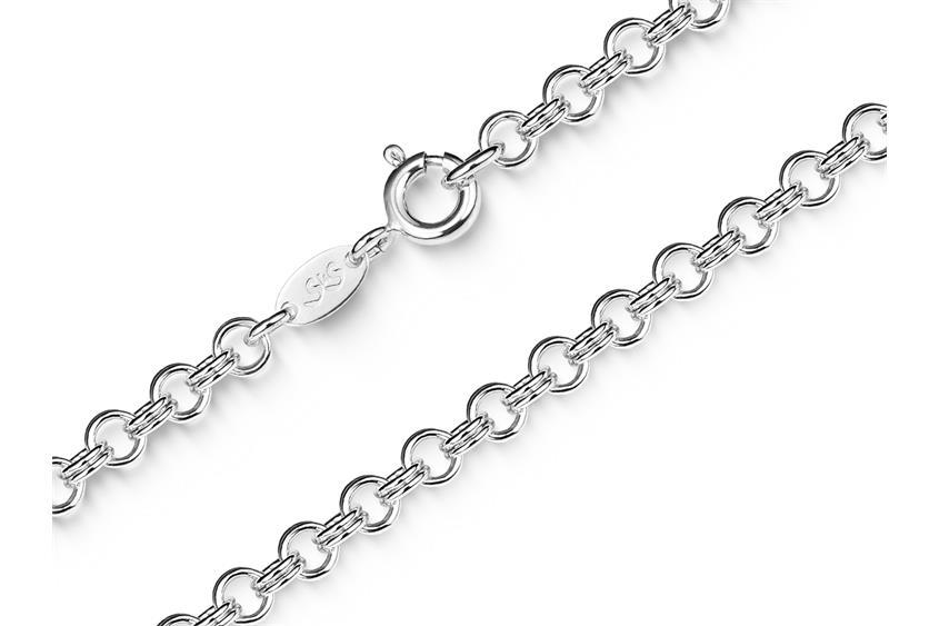 Doppelerbskette 3,6mm - 925 Silber