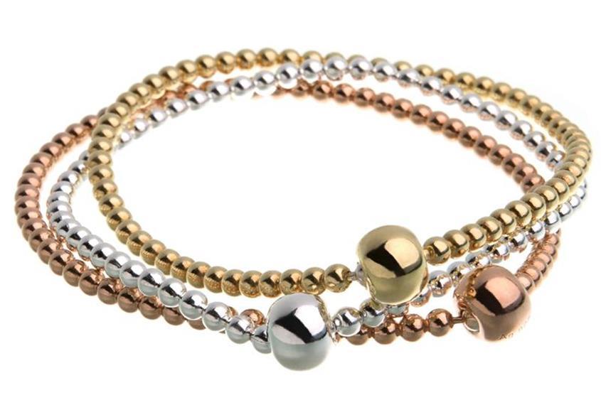 Elastic Elements Armbänder Set 3teilig  - 925 Silber
