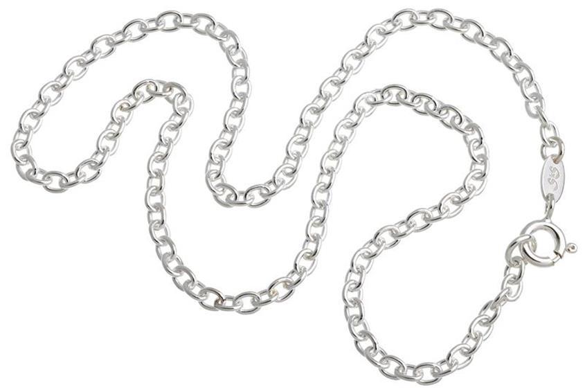Kinder-Erbskette 2,2mm - 925 Silber