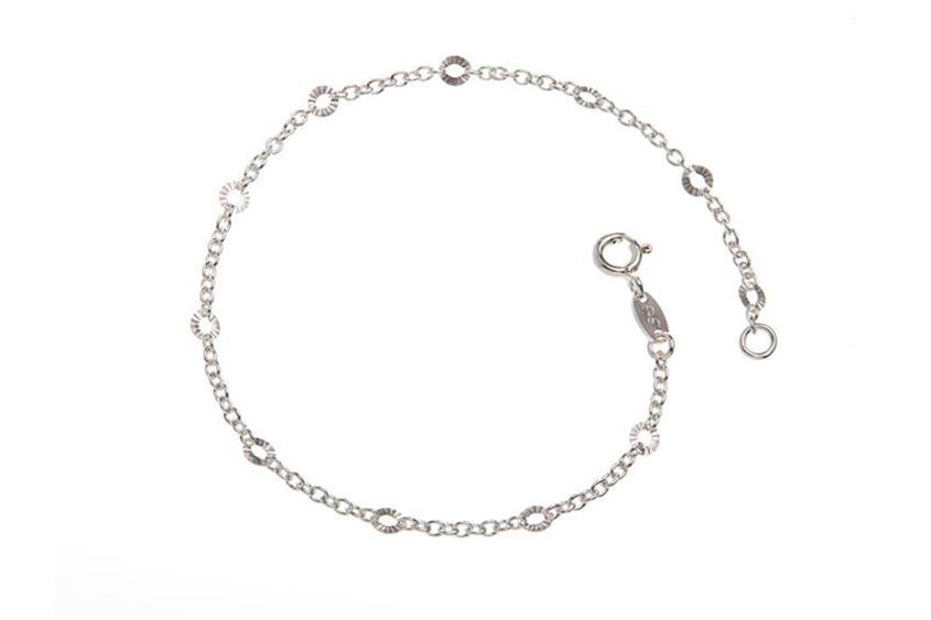 Erbskette Armband 2mm geschliffen