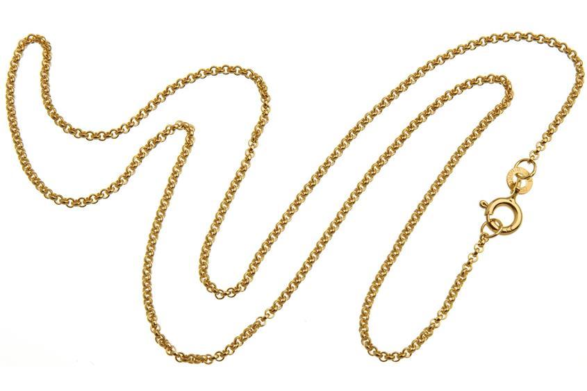 Erbskette 1,5mm - echt 333 Gold
